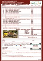 R-T-R QR/QR National 2300 Class Diesel Locomotive - Order Form