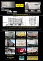 R-T-R QR ALY Steel Louvred Vans
